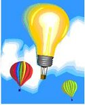 light bulb balloon